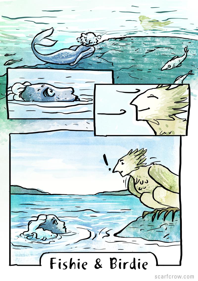 Fishie & Birdie 1